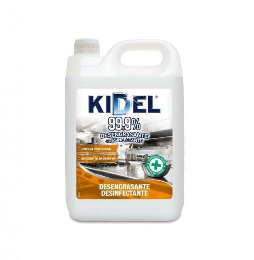 kidel- 99,9%-desengrasante-desinfectante